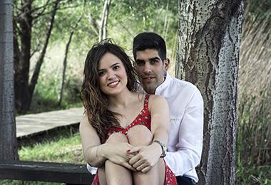 Nuria y Óscar